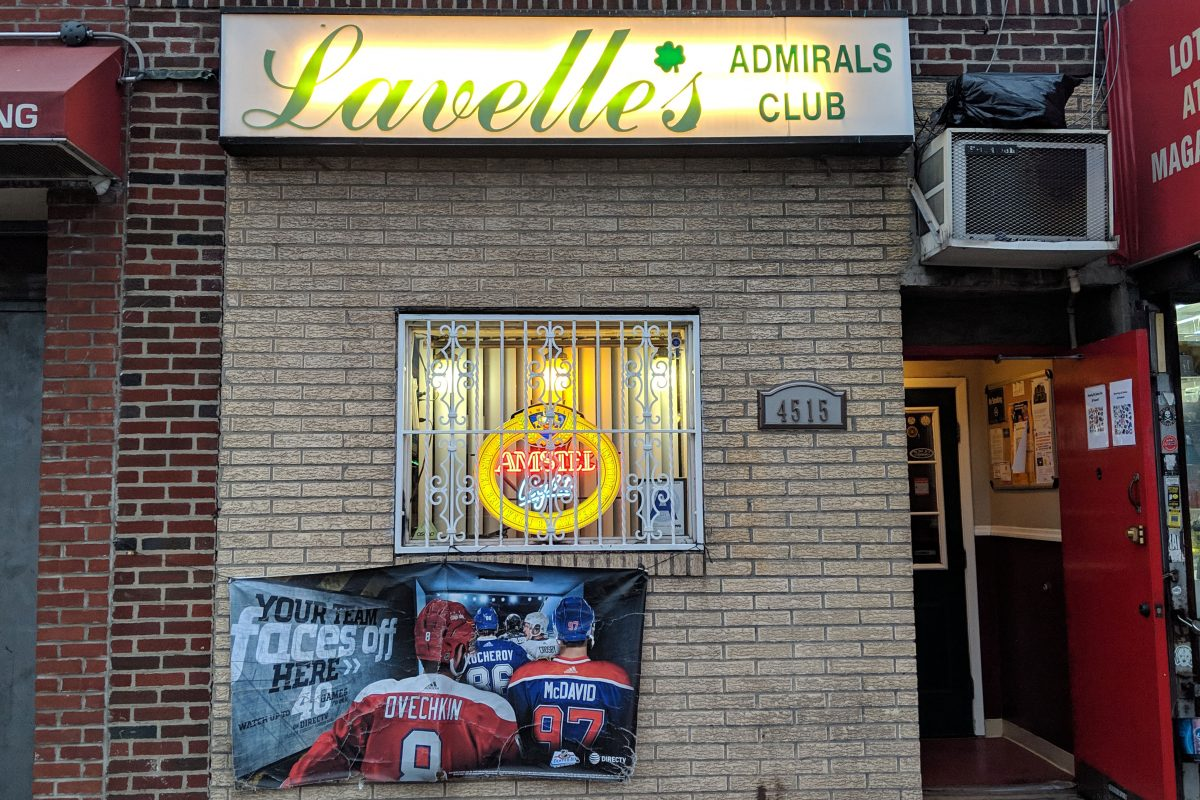 Lavelle's Admiral's Club